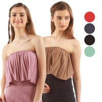 Best Seller Collection / Summer Tube Top / Atasan Pleated / High Quality!