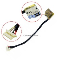 DC Power Jack Cable HP ENVY M6-W M6-W100 799735-F51 dchp30