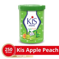 Kis Apple Peach Jar Mini 250 gr