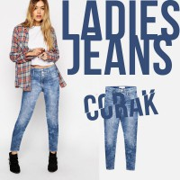 New! Collection Women Denim Skinny Jeans - Celana Panjang Wanita - Good Quality - Best Seller