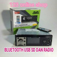 tape mobil AVA bluetooth usb sd dan radio (high power 50x4)