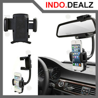 PEGANGAN HP MOBIL CAR REARVIEW MIRROR HANDPHONE HOLDER