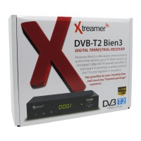 Xtreamer BIEN 3 Set Top Box DVB-T2 dan Media Player (Bonus Kabel HDMI) - Garansi 1 Tahun