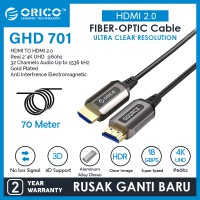ORICO Cable HDMI 2.0 Fiber-optic High Speed - 70M - GHD701-700
