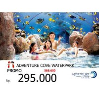 (ADULT) Adventure Cove Waterpark Singapore - (Tiket)