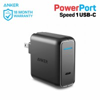 Wall Charger Anker PowerPort Speed USB-C A2014 Black