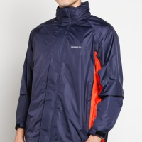 INVENTZO STORM RIDER Beta Orange - Jaket Motor Tahan Air Rain Jacket