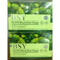 BSY Noni Black Hair Magic Shampoo 1 DUS/1BOX FREE Sarung