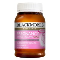 Blackmores Pregnancy and Breastfeeding Gold  Isi 60 Kapsul  ORIGINAL