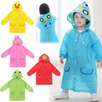 Children's Cartoon Raincoat / Jas Hujan Anak / Funny Rain Coat