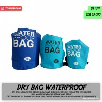 Dry Bag 10 Liter Waterproof Bag Tas Pelampung Olahraga Air Rafting Snorkling