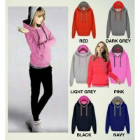 Unisex Double Hoodie Korean Style_Jacket 6 Colors_COTTON FLEECE*GOOD QUALITY