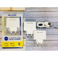 CHARGER WELLCOMM USB W 4.2 AMPERE