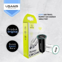 USAMS USB Travel Trumpet Car Charger Single Port