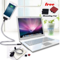 Cable Data & Charger Flexible Metal Standup Docking hp - Iphone