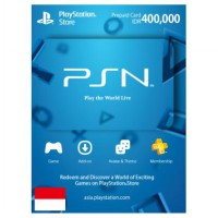 PSN Wallet / Card REG 3 IDR - 400.000