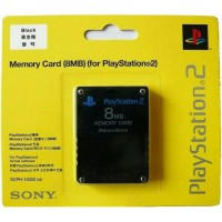 memory card PS2 8MB hitam booting