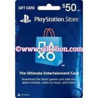 PSN Card US $50 PS4 PS3 PS Vita