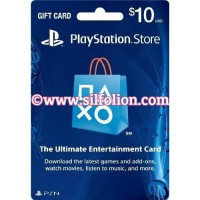 PSN Card US $10 PS4 PS3 PS Vita