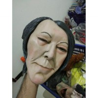 Sale Topeng Halloween Mask Latex Import Natural Face