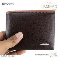 Dompet Pria Kulit Import Exclusive Dompet Cowok Import Coffee 1819-31