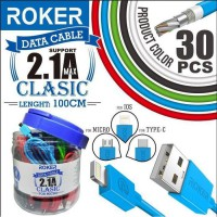 Kabel Roker Classic Micro 1M Kabel Data 2.1A Micro USB