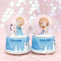 RUMAUMA DISNEY FROZEN SNOW BALL with MUSIC BOX │ Kotak Musik Hadiah