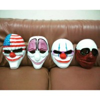 Topeng Payday 2 ready stock