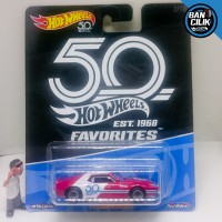 Hot wheels AMC Javelin Ban karet 50 years tahun