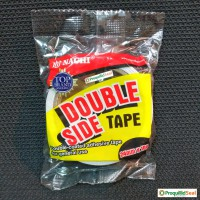 Selotip Isolasi Lakban Solatip Dua Sisi Plakban Tip Bolak Balik Putih 24MM 1IN NACHI White Double Side Tape 1 IN 24 MM 1 Inchi 10 Yard