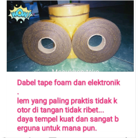 lem perekat elektronik dan foam uk 10x25mmx1mm