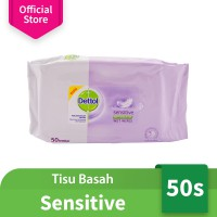 Dettol Wipes Sensitive 50s