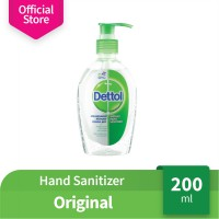 Dettol Hand Sanitizer Original 200 ml Pump