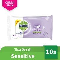 Dettol Wipes Sensitive 10s