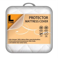 The Luxe Protector Mattress Cover 120x200x40 | Pelindung kasur
