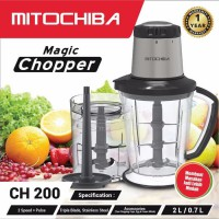 Mitochiba ch200 magic food chopper - silver