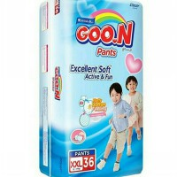 Goon Pants Excellent Soft Active and Fun Popok Bayi [Size XXL/36 Pcs]