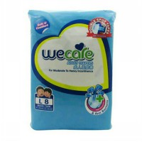 Wecare adult diapers pampers (L/8 pcs)