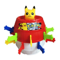 Mainan Anak Running Man Pokemon Pikachu Barrel