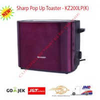 Sharp KZ-200LP(K) Toaster-Resmi