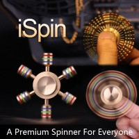 iSpin Finger Spinner 6-Axis Toy S1 | Stainless Luminous In The Dark