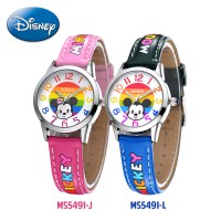 Disney MS5491 Mickey Mouse Jam Tangan Anak Analog Original