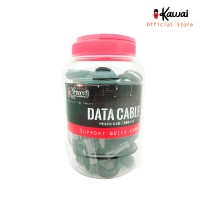 TOPLES 25pcs - Ikawai MicroUSB Kabel Data & Charge Quick Charge Support 1m
