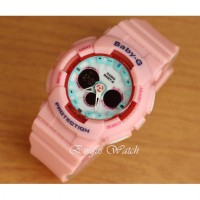 Jam Tangan Wanita Sport Casio Bga120 Light pink Kw SUper
