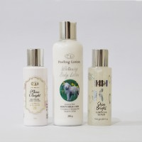 Ella Skincare/ Paket Pemutih Badan Glow and White Body Lotion Package