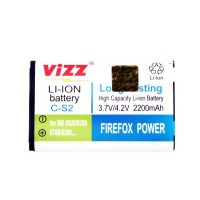 Vizz Baterai Double Power Blackberry Gemini CS2 2200mAh