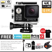BRICA B-PRO 5 Alpha Edition Combo Extreme Full HD 1080p Wifi Action Camera