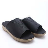 Dr.Kevin Leather Sandals 27310 Black