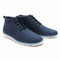 Dr.Kevin Men Casual Sneaker Boot Shoes 1042 Navy