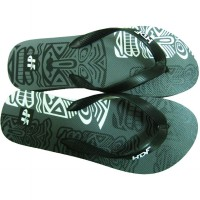 HDF sandal | TRIBES THONG [BLACK/GREY]